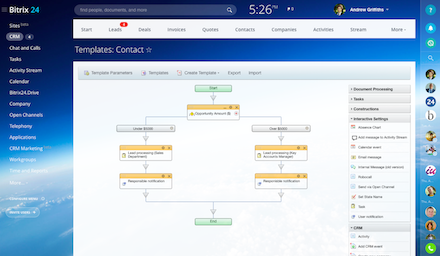 CRM system sales automation